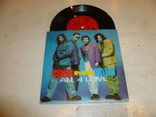 "COLOR ME BADD - All 4 Love - 1991 UK 2-track vinyl 7"" Single"