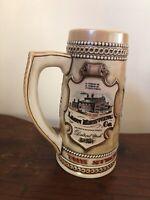 Vintage Stroh's Heritage Series III Beer Stein Mug by Ceramarte Brazil Beer Mug