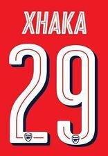 Xhaka 29 2016-17 Arsenal FA Cup Final Hogar Camiseta De Fútbol Del Para