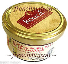 Rougie French Brand DUCK & PORK PATE with ORANGE Fine Gourmet Food Gift New