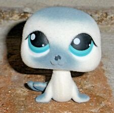 Littlest Pet Shop AROUND THE WORLD baby SEAL 399 Alaska HTF 2007 fuzzy, sled