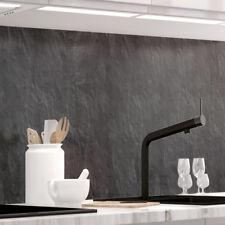 Küchenrückwand - SCHIEFER - 1.5mm Hart-Material, versteift, für alle Untergründe