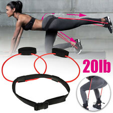 Booty Band Exercise Belt 20LB Body Glute Muscles Trainer Lift & Tone Your Butt