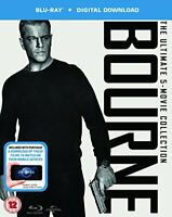 The Bourne Collection (Blu-ray + Digital Download) [2016]