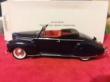 Signature Models Ltd 1939 Lincoln Zephyr Convertible Diecast 1:32 (in box)