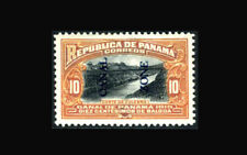 US Stamp, Canal Zone/Panama Mint OG & H, XF S#45 very well centered, discounted