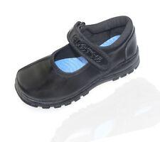 Girls School Shoes Formal Black Wedding Patent Infant Christening Shoes