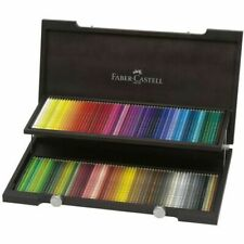 Faber-Castell Polychromos Artists' Color Pencils - Wood Case of 120 - 110013