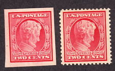 US 368 & 369 Stamps  MNH  2 cent Lincoln VF/M