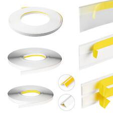 Fensterleiste Abdeckleiste Flachleiste Kunststoffleiste PVC 30-70mm bis 150m TOP