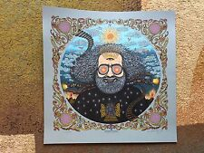 """MARQ SPUSTA JERRY GARCIA """"BICYCLE DAY 2017"""" POSTER GRATEFUL DEAD FULL SIZE MINT!"""