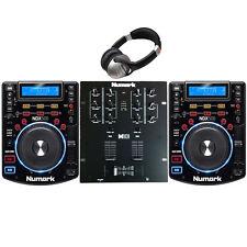 DJ PACKAGE 4: Numark NDX500 USB/CD/Software Controller  M101 MIXER & H/PHONES