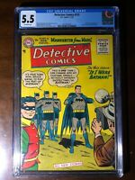 Detective Comics #225 (1955) - 1st Martian Manhunter!!! - CGC 5.5!! - Major Key!