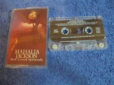MC Mahalia Jackson Best Loved Spiritual Musikkassette Sony Music BAT 13582