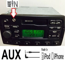 2000 2001 2002 FORD FOCUS OEM STEREO AM FM CD RADIO IPOD MP3 AUX INPUT FEATURE.