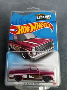 2021 Hot Wheels Legends Tour 83 Chevy Silverado Real Riders Ute GM NEW IN HAND