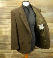 Da Uomo Harris Tweed Tessuto a Mano Lana Giacca Blazer, 40R Marrone eccellente 11,94