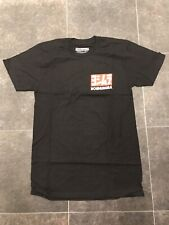 Yoshimura T-Shirt Black Corp Logo - Small
