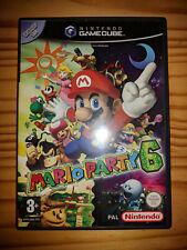 Mario Party 6 GameCube PAL Francais FR - TRES BON ETAT - RARE