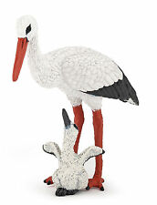 Papo Stork and Baby Stork Toy animal wildlife figure figurine 50159 NEW