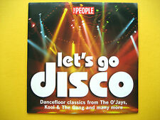 LETS GO DISCO,  CD, A THE PEOPLE NEWSPAPER PROMOTION (1 CD)