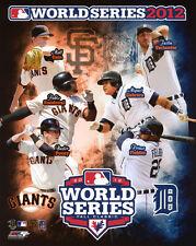 2012 World Series Detroit Tigers vs San Francisco Giants Glossy 8x10 Photo Print
