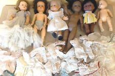 Vintage Mixed HUGE Lot of dolls for Parts, Restore, Re-sale, PLUS Lots CLOTHES!