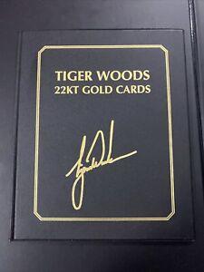 Upper Deck Tiger Woods 22KT Gold Cards