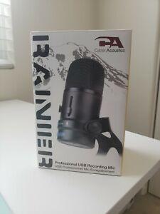 Cyber Acoustics - CVL-2004 - Cyber Acoustics CVL-2004 Microphone - 20 Hz to...