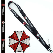 Resident Evil Umbrella Lanyard Neck Strap Charms Cell Phone Rope KeyChain Gift