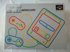 B21 Nintendo Super Famicom console Japan SNES SFC w/box controller