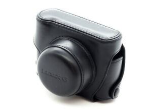 Panasonic Lumix Case for GX1 and GF1 in Black Leather - Excellent!