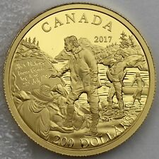 2017 $200 Great Canadian Explorers Series: Alexander Mackenzie - Pure Gold Proof