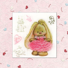 Rabbit Heart Scrapbooking Album Cards Transparent Silicone ClearStamps DIY Craft