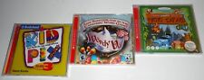 3 CHILD'S VIDEO GAMES: KID PIX, WORDY VU, PHOTO SAFARI - 95/98/XP - NEW SEALED