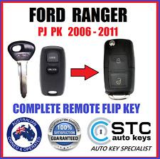 FORD RANGER PJ PK COMPLETE REMOTE FLIP KEYFOB  2006 2007 2008 2009 2010 2011