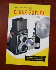 KODAK REFLEX SALES BROCHURE, A3-8 4-48/cks/208131