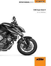 KTM Service Workshop Shop Repair Manual Book 2018 1290 Super Duke R