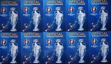 10 x off. Turnier Programm UEFA Euro 2016 France (englisch)