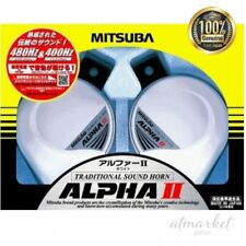 MITSUBA Alpha II White horn MBW - 2E 17 W Car Parts from JAPAN
