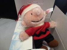 "Steiff ""Charlie Brown"" Christmas Ornament EAN 681714 SIGNED CLAIRE STEIFF NIB"