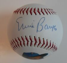 "Ernie Banks PSA DNA Autographed ""Toyota & Ernie"" Promo Baseball  In Holder"