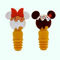 NWt Disney Parks Mickey Minnie Ice Cream Food Snacks Treats Wine Bottle Stoppers