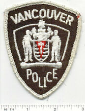 Vancouver Police (Canada) Uniform Take-Off Shoulder Patch from the Early 1980's