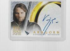 2003 TOPPS LORD OF THE RINGS ROTK VIGGO MORTENSEN AS ARAGORN AUTOGRAPH