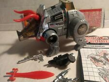 Transformers Slag G1 with Spec card, 5 accessories, missing Only One Rocket