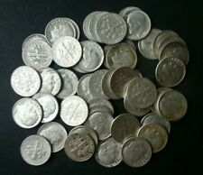 Lot of 50 10c Roosevelt Silver Dimes