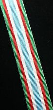 Canadian/Canada Peacekeeping Service Medal, Miniature (16mm) Ribbon, 10 inchs