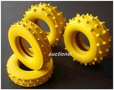 VINTAGE TAMIYA TROLL YELLOW TIRES F / R SAND SCORCHER SUPER CHAMP FROG HORNET