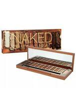 Urban Decay Naked Heat 12 Eyeshadow Palette + Brush NIB Full Size Authentic